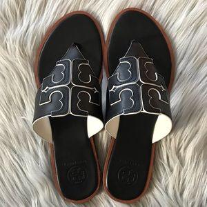 TORY BURCH Jamie Full Logo Thong Sandal